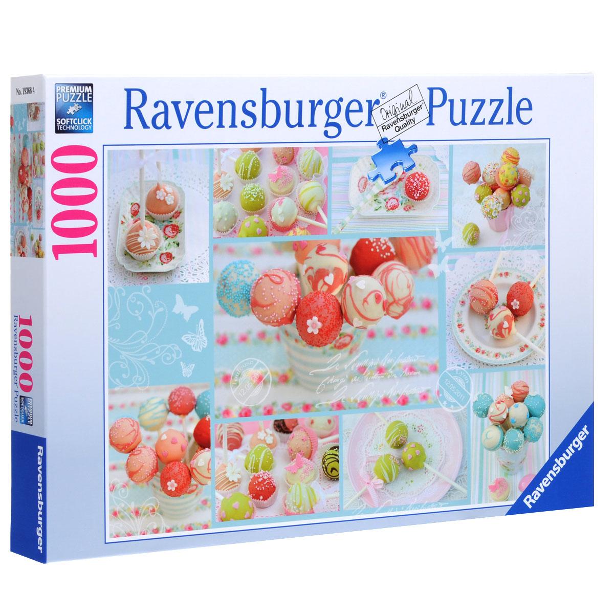 Ravensburger Сладкая жизнь. Пазл, 1000 элементов