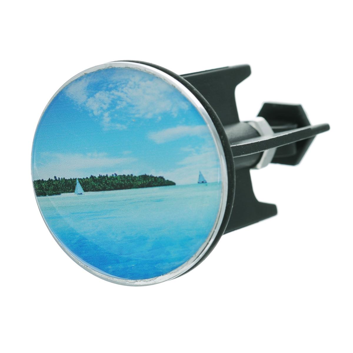 Пробка для раковины Wenko Island, диаметр 4 см20761100