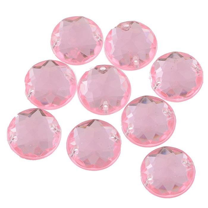 Стразы пришивные Астра, акриловые, круглые, цвет: светло-розовый (03), диаметр 15 мм, 8 шт. 7701646_037701646_03 св.розовыйНабор страз Астра, изготовленный из акрила, позволит вам украсить одежду иаксессуары. Стразы оригинального и яркогодизайна круглой формы оснащены отверстиями для пришивания.Украшениестразами поможет сделать любую вещь оригинальной и неповторимой.