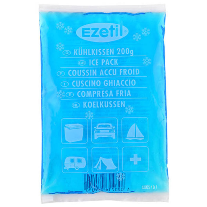 Аккумулятор холода Ezetil Soft Ice, 200 г аккумулятор холода ezetil ice akku g 800