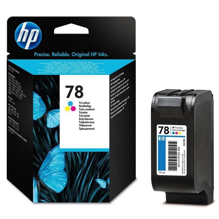HP C6578DE (78), Color струйный картриджC6578DТрехцветные струйные картриджи НР 78 обеспечивают четкие изображения и яркие цвета. Сочетание запатентованных чернил НР на основе красителя и картриджей легко и надежно обеспечивает профессиональное качество печати. Для удовлетворения различных потребностей печати картридж представлен в двух размерах.
