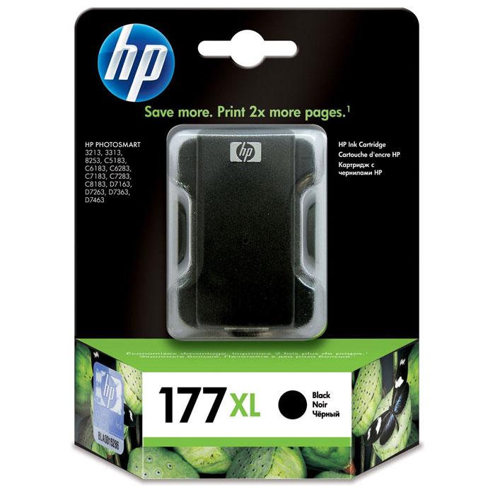 HP C8719HE (177 XL), Black струйный картридж hp c9502ae 56 black струйный картридж
