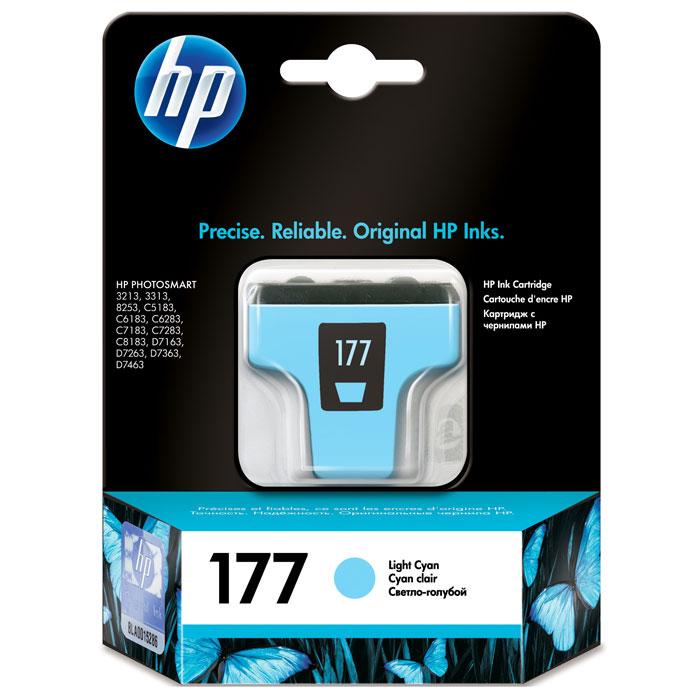 HP C8774HE (177), Light Cyan струйный картриджC8774HEКартридж HP 177 с чернилами Vivera для струйных принтеров HP PhotoSmart.