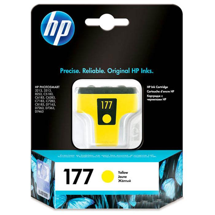 HP C8773HE (177), Yellow струйный картриджC8773HEКартридж HP 177 с чернилами Vivera для струйных принтеров HP PhotoSmart.