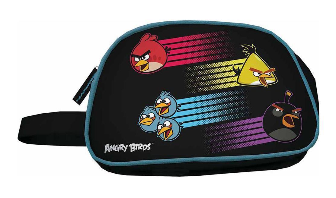 Косметичка, размер 17 х 27 х 12 см Angry Birds