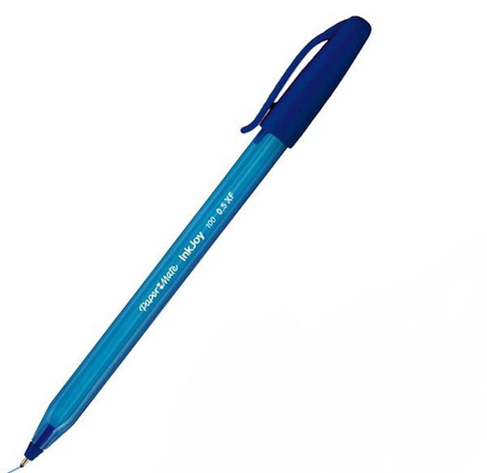 Ручка шариковая INKJOY 100, с колпачком, треугольный корпус, синяя, 0,5 ммPM-S0960900Особенности:
