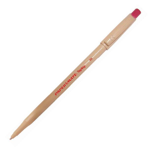 Ручка шариковая REPLAY со стираемыми чернилами, с ластиком, красная, 1,0 ммPM-S0190804Особенности: Стираемые чернила