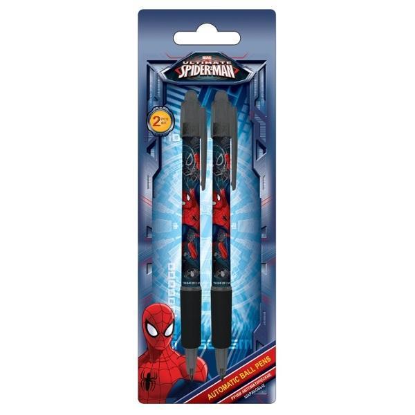 Ручки автоматические шариковые, цвет пасты синий, 2 шт. Amazing Spider-man 2 sideshow spiderman the amazing spider man pvc figure collectible model toy 2 colors 29cm