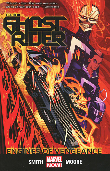 All-New Ghost Rider: Volume 1: Engines of Vengeance all new invaders volume 3 the martians are coming