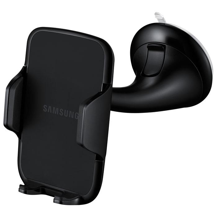 Samsung EE-V200SA, Black автомобильный держатель для устройств 4-5,7EE-V200SABEGRUУниверсальный держатель Samsung EE-V200SA является незаменимым помощником во время управления автомобилем. Конструкция держателя обеспечивает надёжную фиксацию мобильного устройства без вибраций во время продолжительных поездок. Просто закрепите кронштейн на лобовом стекле или приборной панели и отрегулируйте оптимальное положение устройства для комфортного просмотра информации. Например, с помощью спутникового навигационного приложения вы можете использовать смартфон, установленный в держатель, в качестве полноценного навигатора. Для вашей безопасности вы можете использовать приложения с возможностью голосового управления, например, S Voice. Универсальный автомобильный держатель подходит как профессиональным водителям, так и обычным людям, ценящим комфорт и удобство.