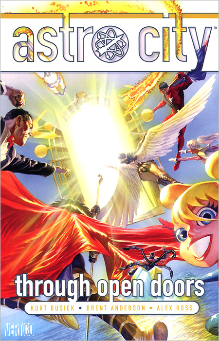 Astro City: Through Open Doors astro city vol 14