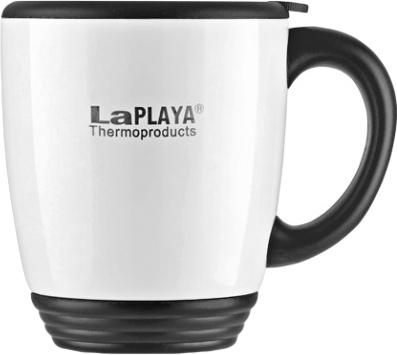 Термокружка LaPlaya, цвет: белый, 450 мл