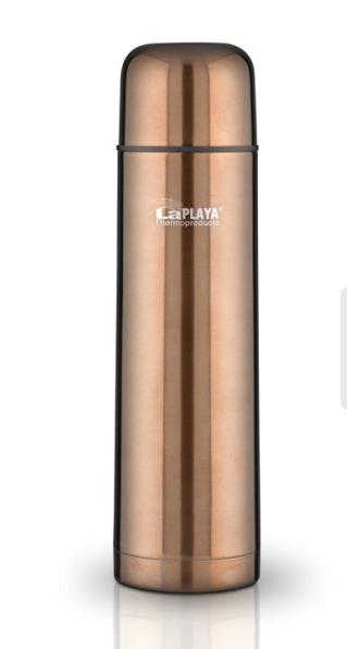 Термос LaPlaya Mercury, цвет: бронзовый, 500 мл laplaya термос купить