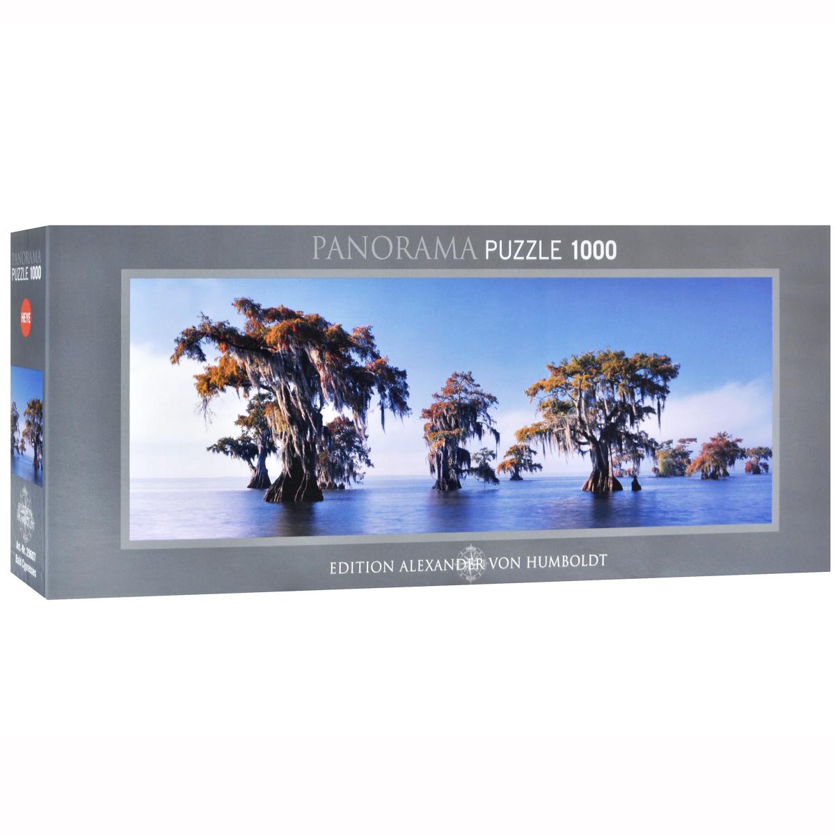 HEYE Затопленные кипарисы. Пазл-панорама, 1000 элементов