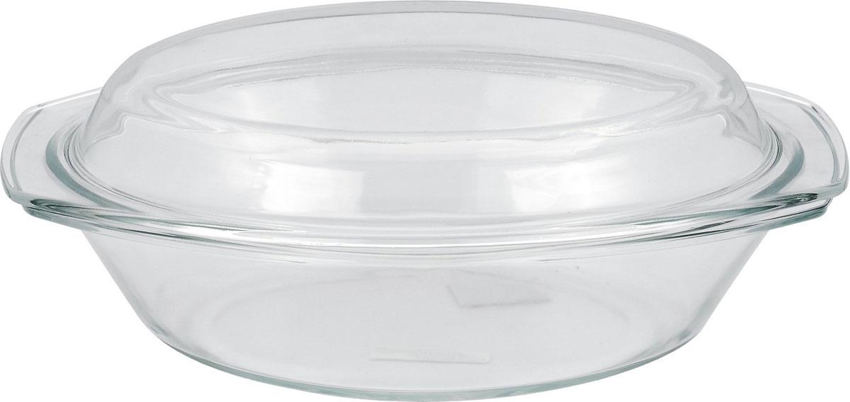 """Емкость для микроволновой печи """"Bekker"""" состоит из одной миски с крышкой, выполненной из жаропрочного стекла. В таких емкостях удобно запекать мясо, овощи и т.д.  Набор подходит для приготовления блюд в микроволновой печи, духовом шкафу и хранения продуктов в морозильной камере. Подходит для чистки в посудомоечной машине."""