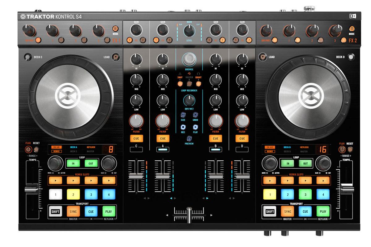 Native Instruments Traktor Kontrol S4 Mk2 DJ-контроллер - DJ-оборудование