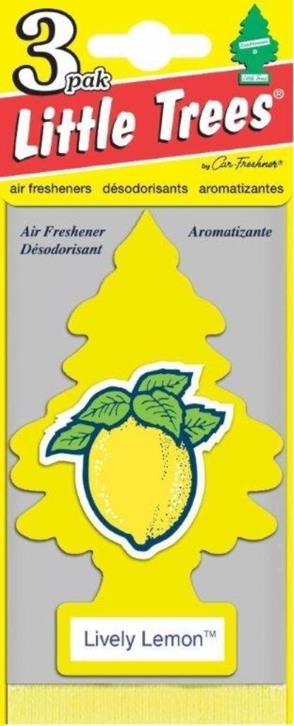 Набор ароматизаторов Car-Freshner Елочка Живой лимон, 3 штU3S-32013Оригинальный ароматизатор сделан из высококапилярного качественного картона - что позволяет долго сохранять аромат и насыщенность красок изображения. Уникален по эффективности действия, насыщенности и стойкости запахаПовесьте ароматизатор в любом удобном месте - в салоне автомобиля, дома или в офисе - и получайте удовольствие! Характеристики:Материал: 100% спрессованная целлюлоза, полимеры, не токсичные отдушки. Размер упаковки: 19 см х 7,5 см х 1 см. Артикул:U3S-32013.