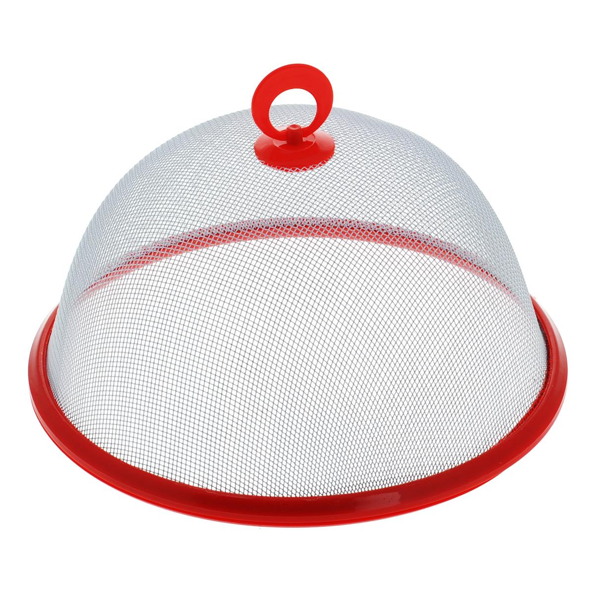Крышка-защита от насекомых Regent Inox Linea Pronto, диаметр 26 см93-PRO-33-26Крышка Regent Inox Linea Pronto выполнена из высококачественной нержавеющей стали. Крышка представляет собой прочную сетку на пластиковом ободке. Она станет надежной защитой от насекомых, в то же время крышка полностью воздухопроницаемая. Изделие оснащено удобной пластиковой ручкой.