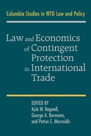 Law and Economics of Contingent Protection in International Trade jerald pinto e economics for investment decision makers workbook micro macro and international economics