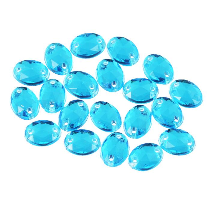 Стразы пришивные Астра, акриловые, овальные, цвет: голубой (32), 6 мм х 8 мм, 20 шт. 7701649_327701649_32 голубойНабор страз Астра, изготовленный из акрила, позволит вам украсить одежду и аксессуары. Стразы оригинального и яркого дизайна овальной формы оснащены отверстиями для пришивания.Украшение стразами поможет сделать любую вещь оригинальной и неповторимой.