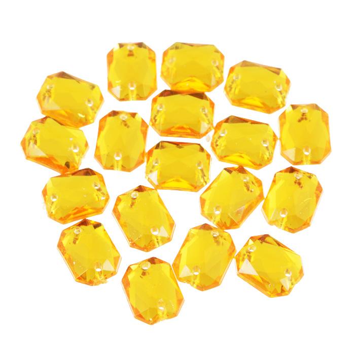 Стразы пришивные Астра, акриловые, прямоугольные, цвет: светло-оранжевый (11), 8 мм х 10 мм, 18 шт. 7701652_117701652_11 св.оранжевыйНабор страз Астра, изготовленный из акрила, позволит вам украсить одежду и аксессуары. Стразы оригинального и яркого дизайна выполнены в форме прямоугольникаи оснащены отверстиям для пришивания. Украшение стразами поможет сделать любую вещь оригинальной и неповторимой.