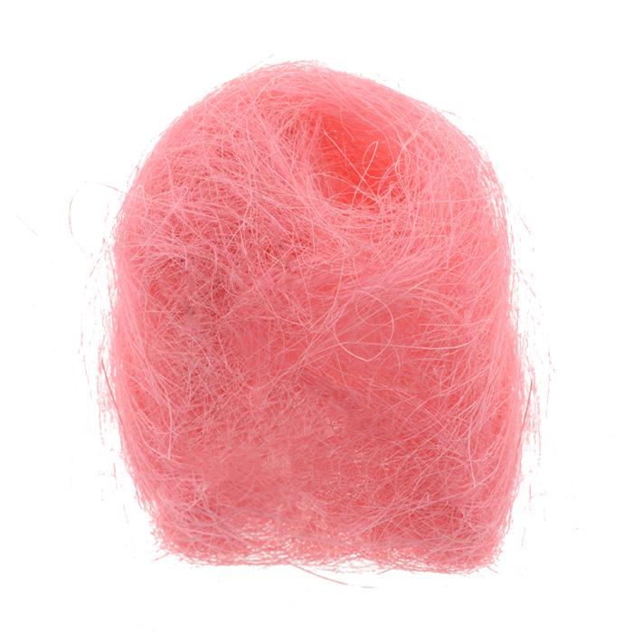 Сизаль Folia, цвет: розовый (23), 50 г7708100_23Сизаль Folia является необыкновенным аксессуаром для флористики и упаковки подарков. Это тонкие, прочные волокна, которые изготовляют из листьев агавы. Сизаль окрашивается в различные цвета и затем из его волокон плетут декоративные веревки, украшают металлические каркасы для букетов, используют его в изготовлении корзин. В подарочной упаковке сизаль удачно используют в изготовлении оригинального оберточного материала. Также сизаль используют как наполнитель в коробках. Во многих флористических композициях сизаль создает легкое облако над букетом, придавая воздушность и свежесть цветам. В рождественских декорациях сизаль подчеркивает зимнее настроение коллекций. Такой материал можно комбинировать с различными аксессуарами, как с природными - веточки, шишки, скорлупа, кора, перья так и с искусственными - стразы, бисер, бусины. Уникальная токая структура волокон позволят создавать новые формы.