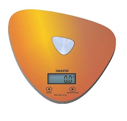 Marta MT-1632, Gold кухонные весы