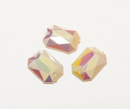 Стразы пришивные Астра, акриловые, прямоугольные, цвет: серебристый (46), 13 мм х 18 мм, 6 шт. 7701653_467701653_46 серебристыйНабор страз Астра, изготовленный из акрила, позволит вам украсить одежду и аксессуары. Стразы оригинального и яркого дизайна прямоугольной формы оснащены отверстиями для пришивания.Украшение стразами поможет сделать любую вещь оригинальной и неповторимой. Размер: 13 мм х 18 мм х 5 мм.