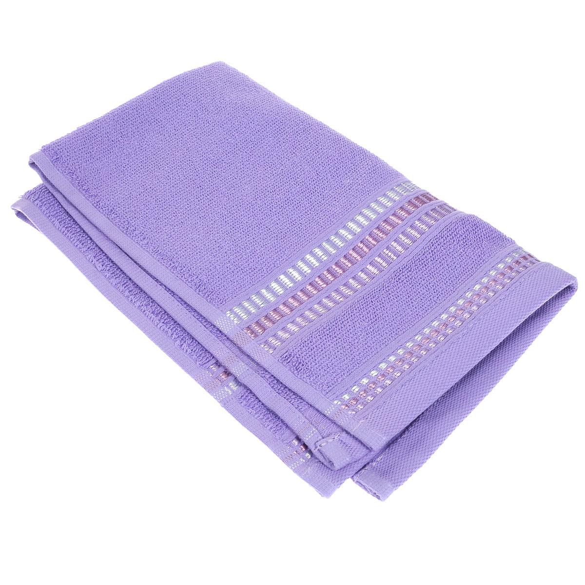 Полотенце махровое Coronet Пиано, цвет: светло-лиловый, 30 см х 50 см полотенца oran merzuka полотенце sakura цвет светло лиловый набор