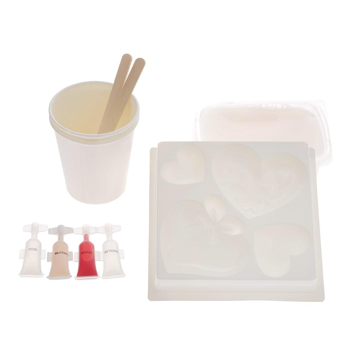 Набор для изготовления фигурного мыла Любовь. 2700000017661 луч набор для изготовление мыла машины