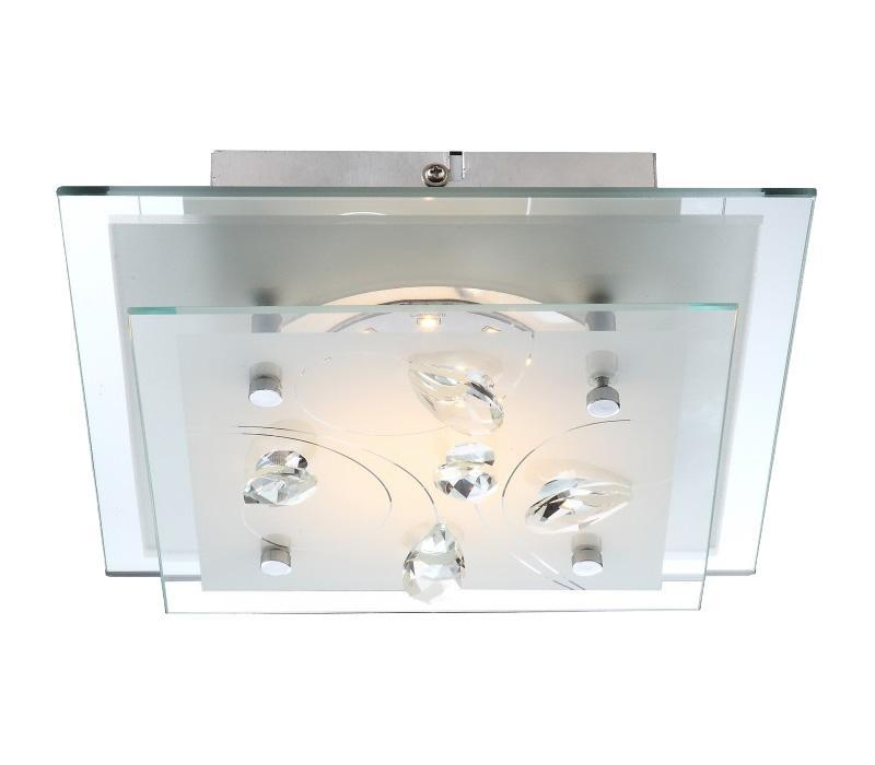40418 ELINE Потолочная люстра40418 Большой популярностью пользуются настенно-потолочные светильники Globo ELINE 40418, покоряя своим разнообразием. Здесь и классика, и современность, и оригинальность, и дизайнерские экземпляры. Настенно-потолочные светильники Globo подойдут для освещения кухни, ванной, прихожей и многих других местах. Изготавливаются настенно-потолочные светильники в виде плафонов (разного цвета и формы) со скрытой лампой, позволяя их устанавливать и на стену и на потолок.