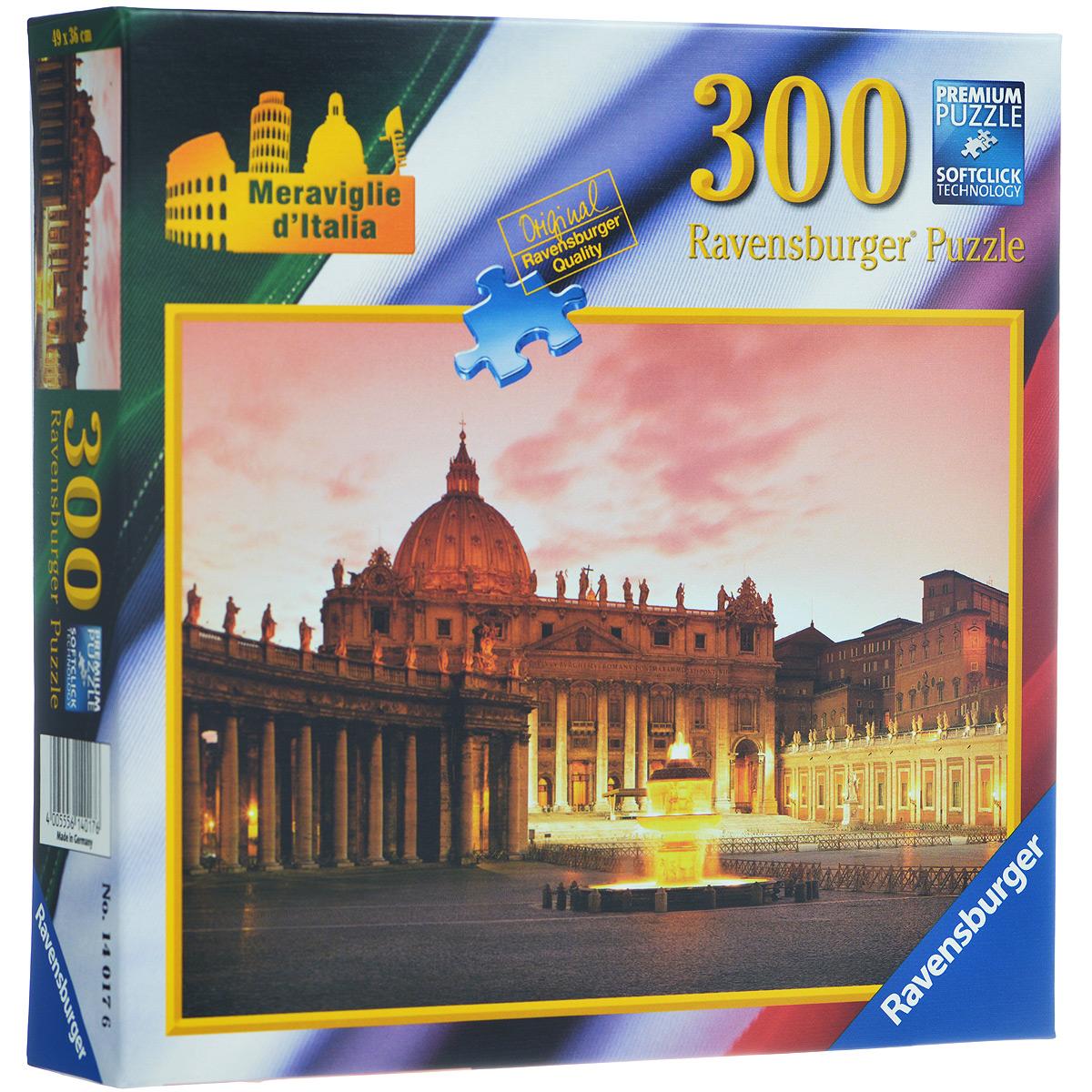 Ravensburger Площадь Святого Петра. Пазл, 300 элементов