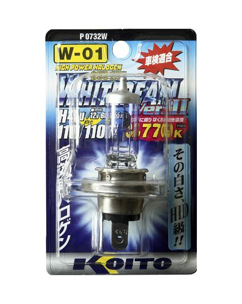 Лампа высокотемпературная Koito Whitebeam, 3770К, 12ВP0732WЛампа высокотемпературная Koito Whitebeam, 3770К, 12В - обладают ярким эффектным светом и компактными размерами. У лампы есть большой запас срока службы. Способна выдержать большое количество включений и выключений.Напряжение: 12 вольт