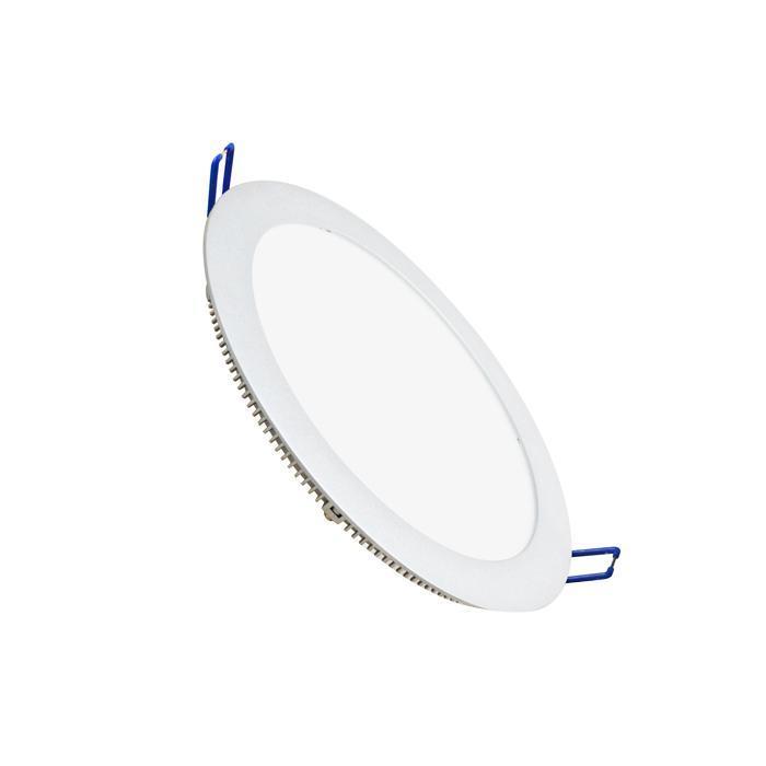 Светильник встраиваемый светодиодный тонкий круг 15.5W 6500 1100lm холодный белый D=235mm - цвет белый светильник встраиваемый светодиодный тонкий круг 15 5w 2800k 1000lm теплый белый d 235mm цвет серый