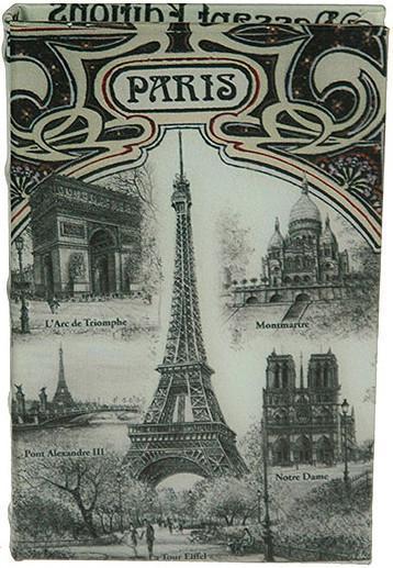 Шкатулка-фолиант Париж 21*14*3см184232 Шкатулка Русские подарки Париж 184232 сохранит ваши украшения в первозданном виде. С ней вы сможете внести в интерьер частичку элегантности. Данная модель выполнена из качественных материалов и станет оригинальным подарком. Материал: MDF, кож. зам; цвет: серый