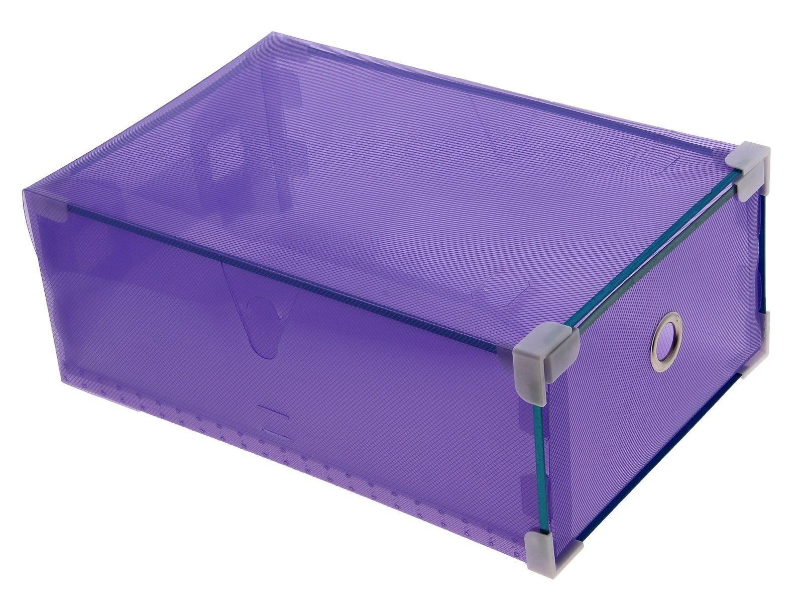 короб для хранения выдвижной 34*22*12см сиреневый 7099706907099700009Коробка для мелочей изготовлена из прочного пластика. Предназначена для хранения мелких бытовых мелочей, принадлежностей для шитья и т.д. Коробка оснащена плотно закрывающейся крышкой, которая предотвратит просыпание и потерю мелких вещиц.Коробка для мелочей сохранит ваши вещи в порядке. Материал: Пластик, металл