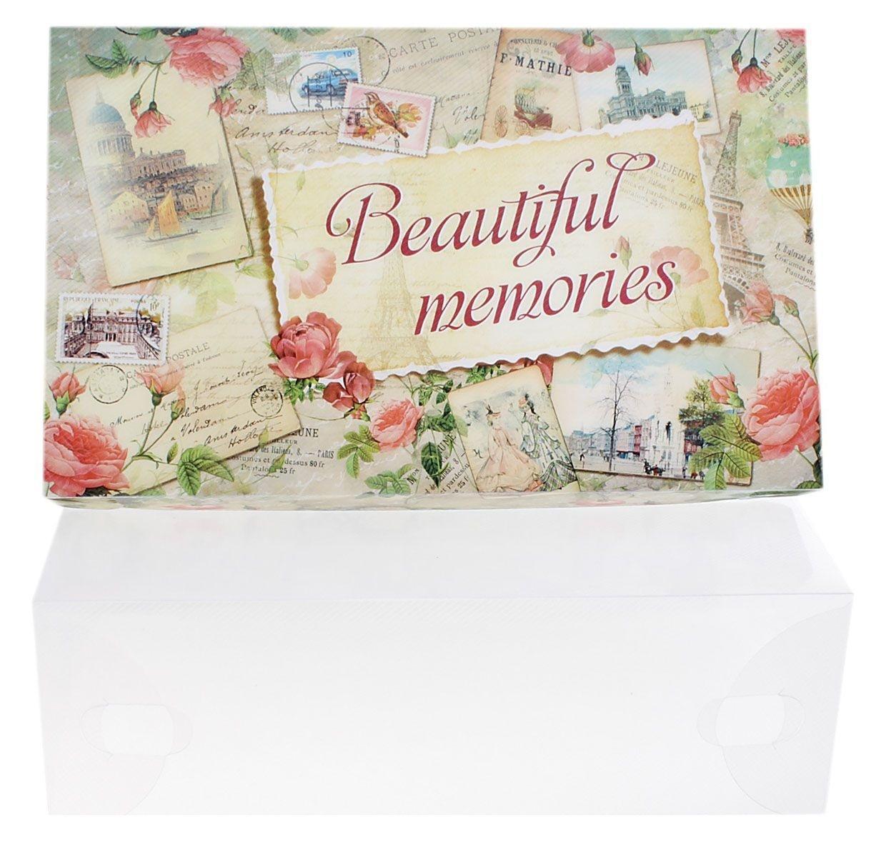 """Коробка для хранения Sima-land """"Beautiful Memories"""" изготовлена из высококачественного прозрачного пластика. Она поможет аккуратно хранить различные вещи, мелкие аксессуары и т.д. Коробка имеет пластиковую крышку, которая украшена изображениями марок и надписью """"Beautiful Memories"""". Изделие легко собирается и не занимает много места. Коробка для хранения - идеальное решение для аккуратного хранения ваших вещей и аксессуаров."""