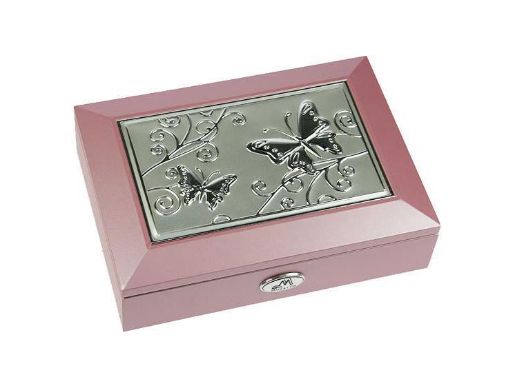 Шкатулка ювелирная Moretto, цвет: розовый, 18 см х 13 см х 5 см. 3991939919Шкатулка Русские подарки MORETTO 39919 - это оригинальный и стильный подарок. Эта модель сохранит ваши ювелирные изделия в первозданном виде. С такой шкатулкой вы сможете внести в интерьер частичку элегантности. Характеристики:Материал: МДФ, металл (алюминий), стекло, текстиль, ПМ. Размер шкатулки: 18 см х 13 см х 5 см. Размер отделения шкатулки (Д х Ш х Г): 5 см х 10,5 см х 3 см. Размер зеркала: 12 см х 7 см. Размер упаковки: 19 см х 14 см х 6 см. Артикул: 39919.