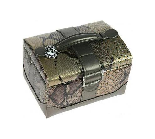 Шкатулка для ювелирных украшений Calvani, цвет: бежевый, серый. 83353 шкатулка русские подарки шкатулка