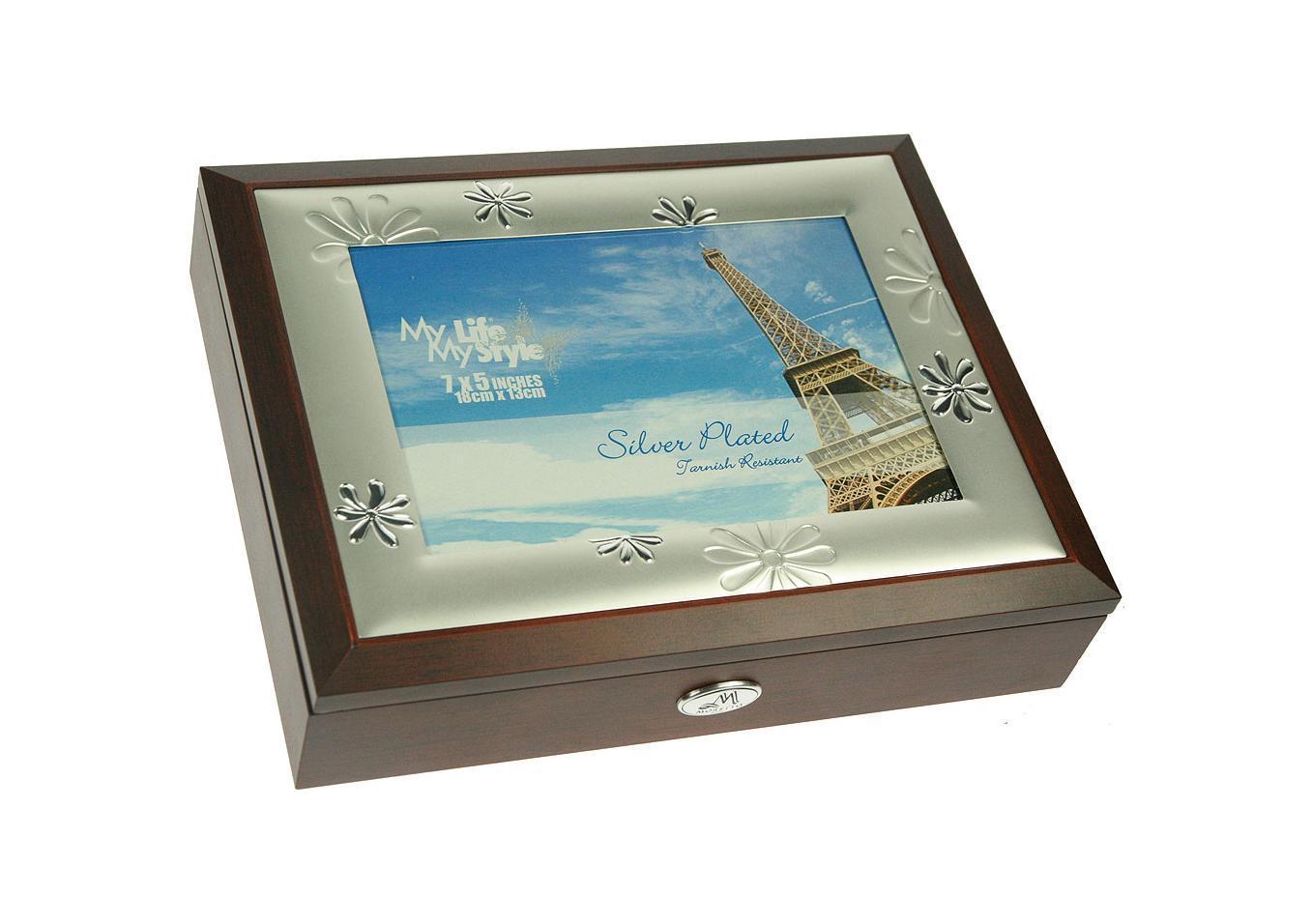 Шкатулка-фоторамка ювелирная Moretto, 24 х 19 х 5 см 139555 шкатулка русские подарки шкатулка