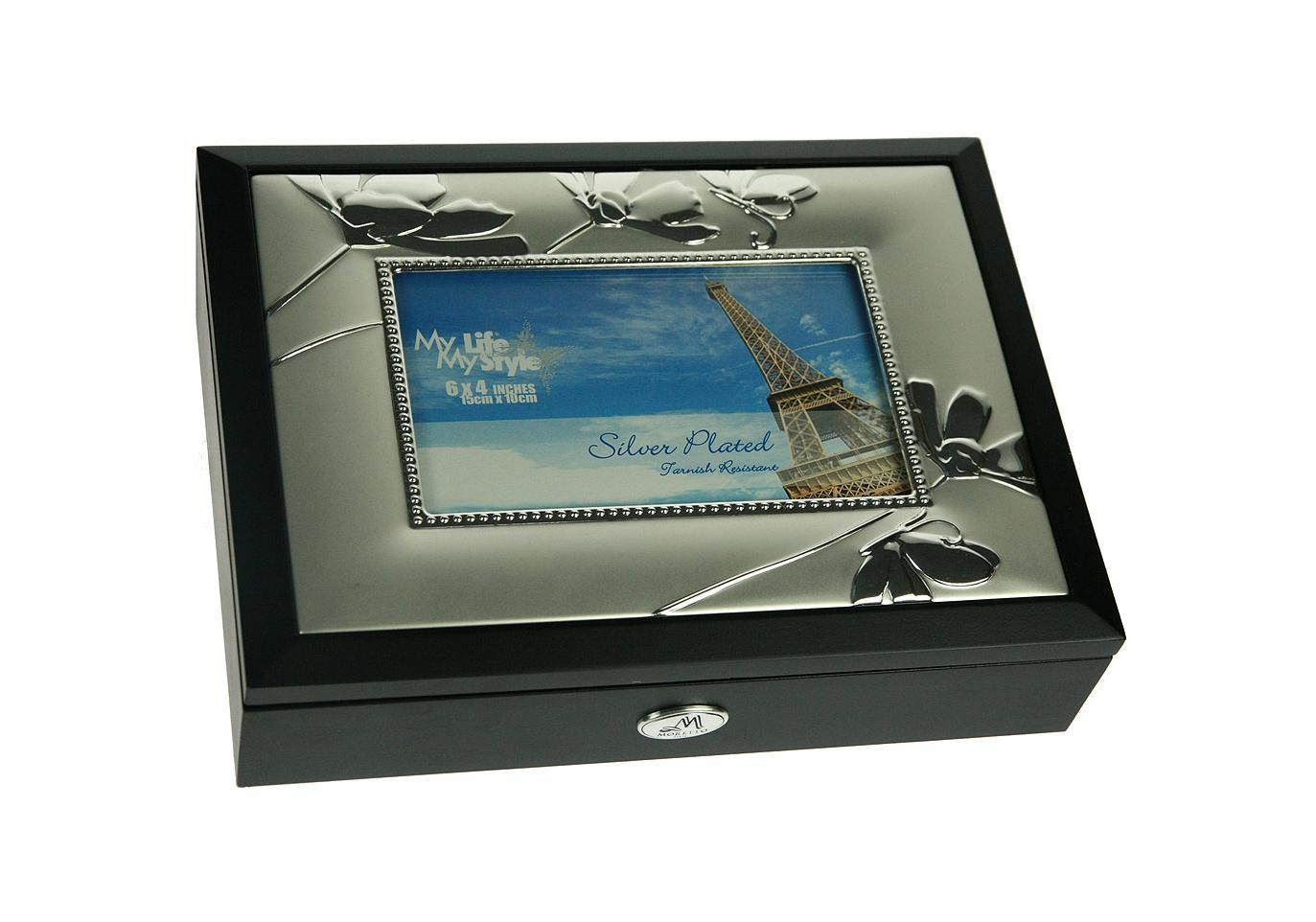Шкатулка-фоторамка ювелирная Moretto, 24 х 19 х 5 см 139549 статуэтка русские подарки мисс рандеву 11 х 10 х 31 см