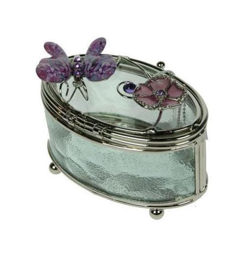 Шкатулка Розовые Фиалки78790Шкатулка Русские подарки Розовые Фиалки 78790 сохранит ваши ювелирные изделия в первозданном виде. С ней вы сможете внести в интерьер частичку элегантности. Данная модель выполнена из качественных материалов и станет оригинальным подарком. Материал: стекло, металл (железо, сплав олова), акрил; цвет: прозрачная
