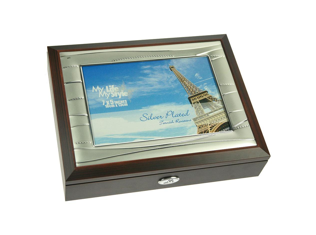 Шкатулка-фоторамка ювелирная Moretto, 24 х 19 х 5 см 139553