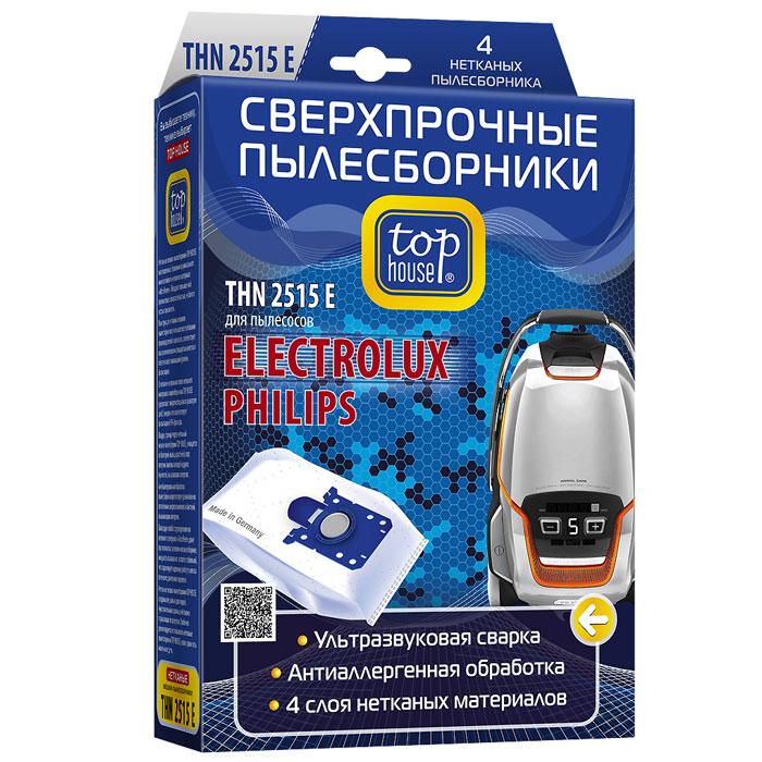 цена на Top House THN 2515 E нетканые пылесборники (4 шт)