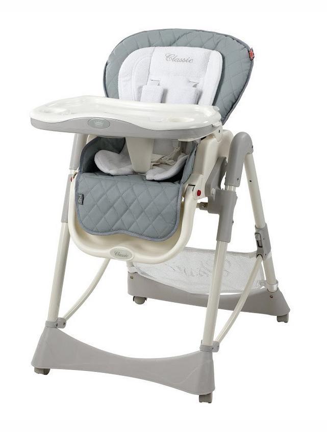 Стульчик для кормления Happy Baby William Grey -  Все для детского кормления