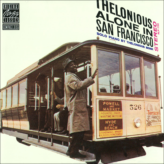 Телониус Монк Thelonious Monk. Thelonious Alone In San Francisco kitcyo588750pac103637 value kit crayola pip squeaks telescoping marker tower cyo588750 and pacon riverside construction paper pac103637