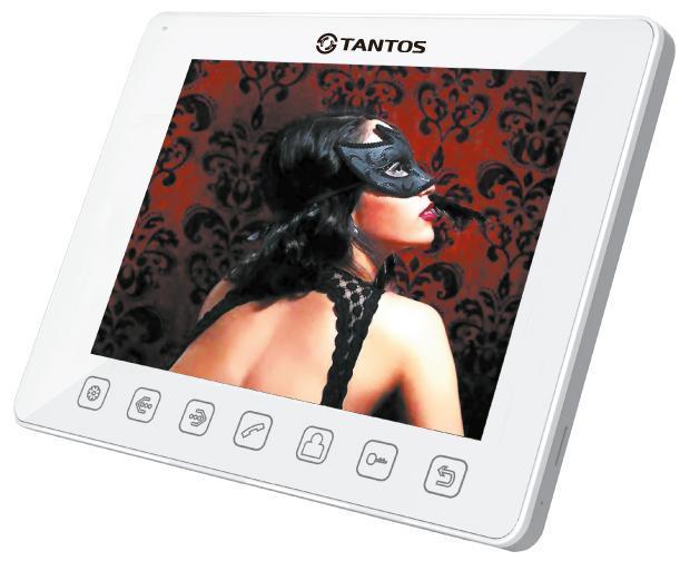 Tantos Tango+, White монитор видеодомофона tantos amelie black монитор видеодомофона