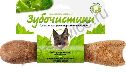 Лакомство Зубочистики для собак крупных пород, с морскими водорослями лакомство зубочистики для собак мелких пород с курицей 2 шт