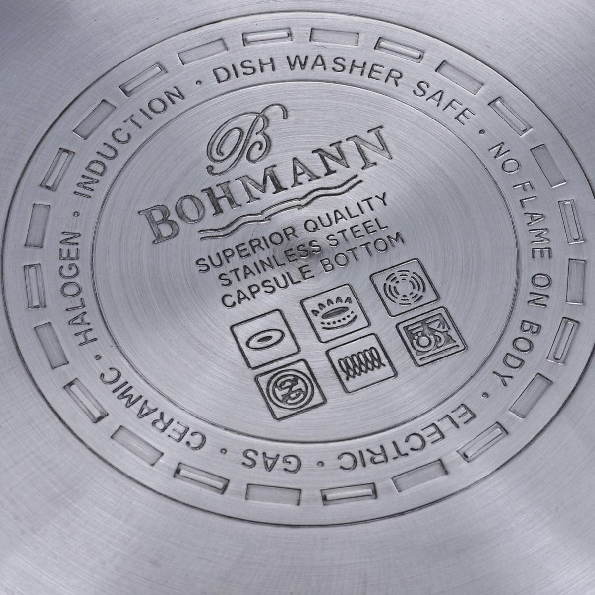"Набор кастрюль ""Bohmann"", 6 предметов. 3431BH"