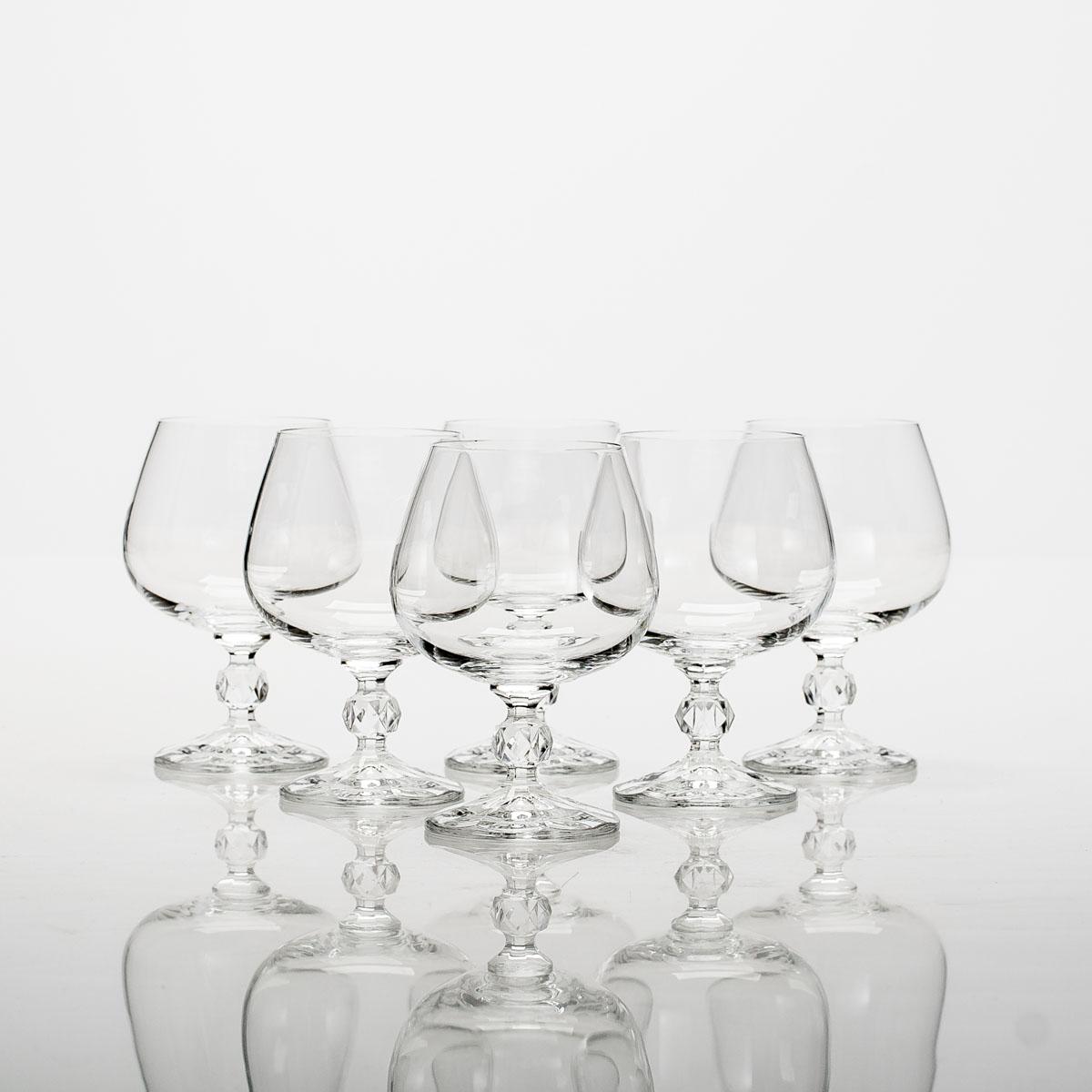 Набор бокалов для коньяка Crystalite Bohemia Klaudie, 250 мл, 6 шт набор бокалов для бренди 6 шт crystalite bohemia набор бокалов для бренди 6 шт